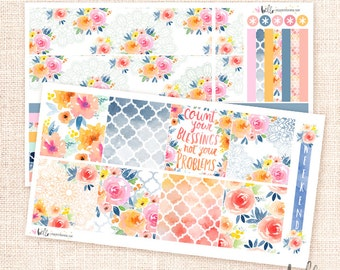 Sunset Garden - for the Horizontal ECLP Kit / 3 sheets
