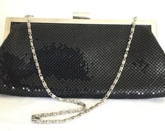 Black Clutch Bag - Black Evening Bag - Evening Clutch Bag