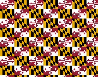 Maryland State Flag HTV Vinyl Sheets, Maryland decal, maryland pattern