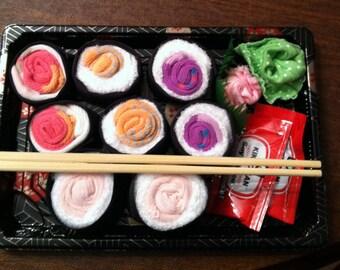 Sushi Socks - Popular Baby Shower Gift for Boy or Girl
