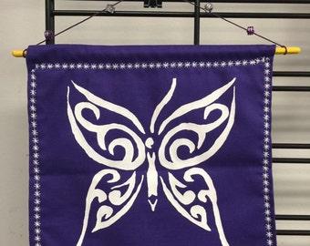 Butterfly Reiki Cloth, Wall Cloth