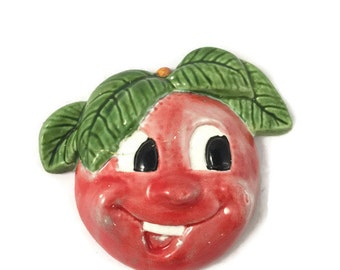 Vintage Ceramic Tomato Head