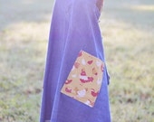 Chicken Chick Mid-Length Denim {Farm Girl Work Apron} | Ready to Ship!