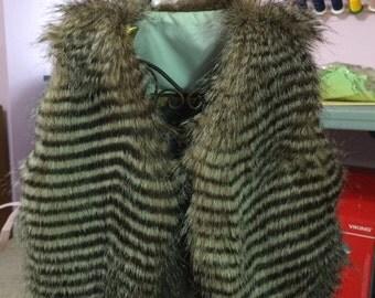 Childs Fur Vest