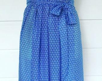 Silk/Cotton maxi dress