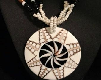 Cone Shell Pendant Necklace