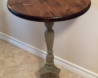 """SOLD ** Hand Painted/Stained 
