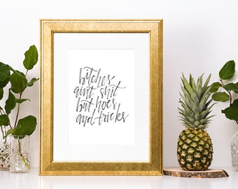 Dr. Dre Rap Lyrics Print