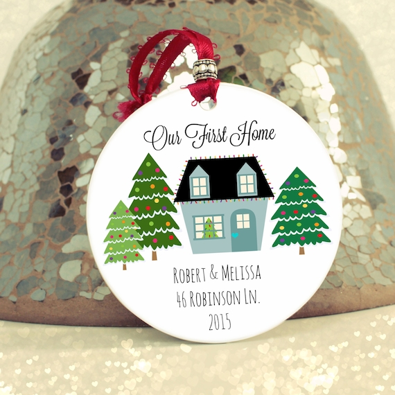 Housewarming gift newlywed gift our first home by Best housewarming gifts for couples