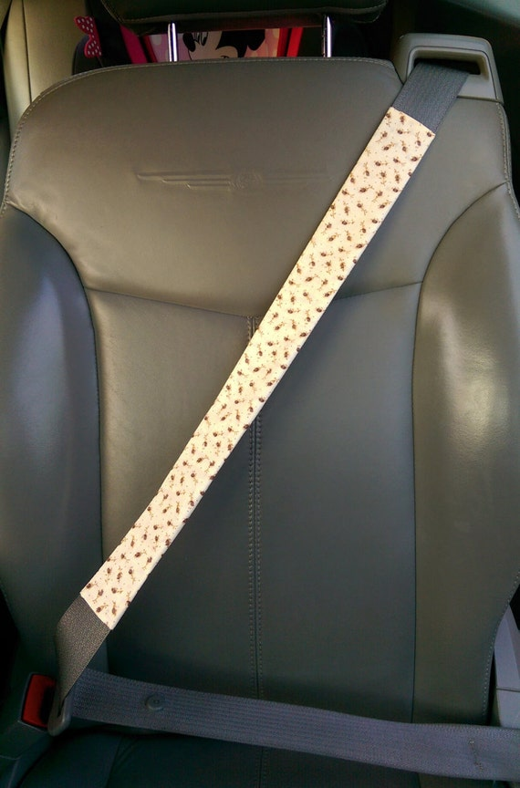 handmade car seat belt cover clothes removable protector long. Black Bedroom Furniture Sets. Home Design Ideas