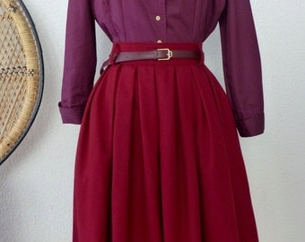 "50s blouse ""Holly"" with french cuffs"