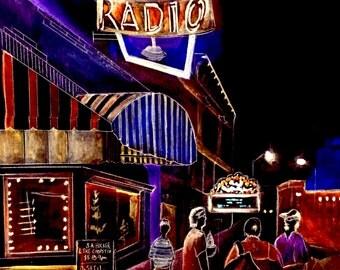 Indianapolis, Indiana, Fountain Square, Radio Radio