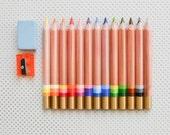 Multi-colored pencils pencils crayons multi-color Koh-i-noor Magic