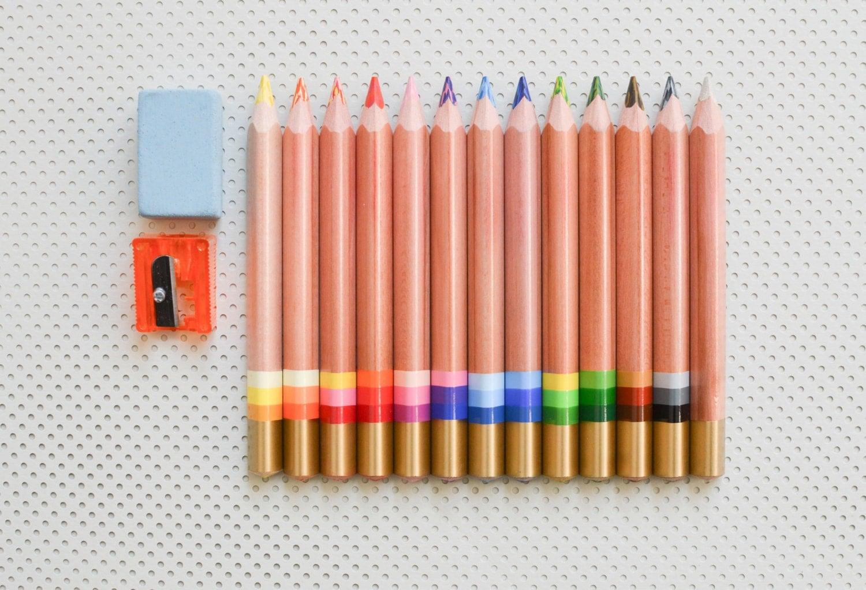 multi colored pencils pencils crayons multi color koh i noor. Black Bedroom Furniture Sets. Home Design Ideas