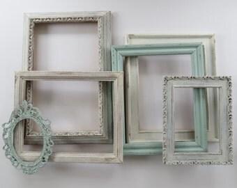 Custom open frames / Wedding / Wedding Decor / Photo Props / Home Decor / Ideas / Inspiration / Custom colors / shabby chic / Set of 3, 5, 9