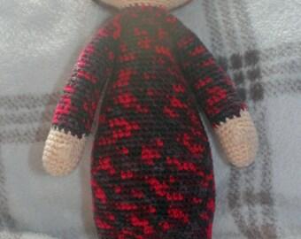 Crochet 'bina' bear