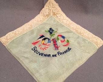 WW1 U.S Army Occupation Era Souvenir Handkerchief