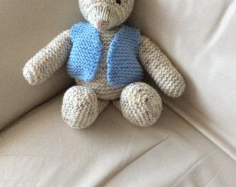 Teddy bear named Alfie