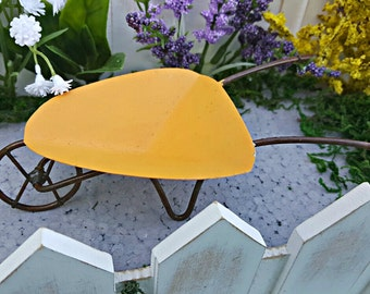 Miniature Wheelbarrow - Summer Orange