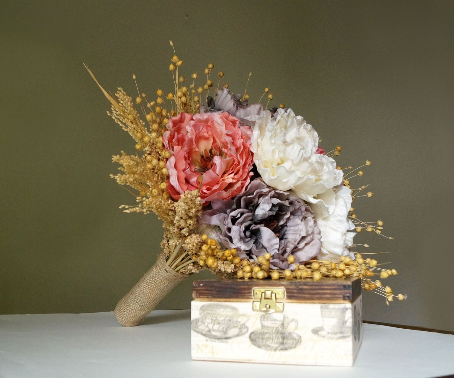 romantic weddings wedding bouquet bridal bouquet dried flowers