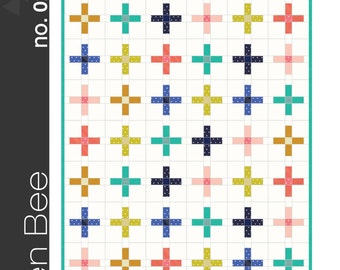 Plus Quilt Pattern from Green Bee Patterns