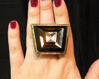 Gorgeous Vintage Statement Costume Ring