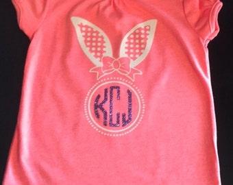 Circle Monogrammed Easter Shirt