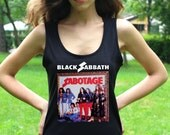 Black Sabbath T Shirt Black Sabbath Shirts Black Sabbath Tank Top Heavy Metal Women Tops Hard Rock Shirts
