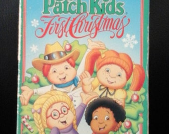 Vintage 1991 CABBAGE PATCH Kids First Christmas VHS