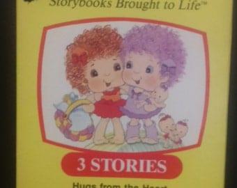 Vintage 1985 Golden Book Video HUGGA BUNCH VHS Tape! 3 Stories. Nice Find!