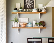 country style kitchen shelves unique farmhouse shelf related items etsy 6221