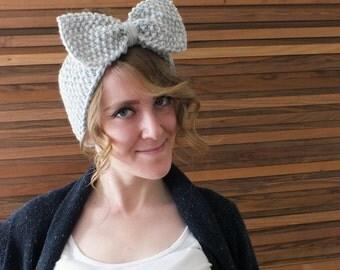 Bow Headband Women Chunky Headband Knit Ear Warmer Crochet Headband Winter Head Wrap Ear Warmer Headband Turban Ear Warmer Hair Accessories