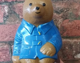 Paddington Bear Money Box Cheltenham & Gloucester Building Society