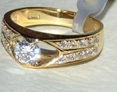 14K GOLD Ring 4.0gr. Made in Greece Quality Guaranteed, Free Shipping Worldwide