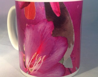 Hand illustrated mug