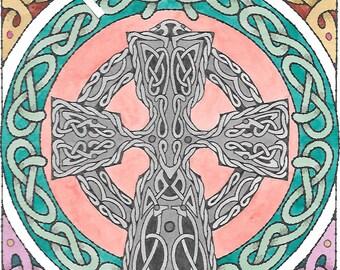 Celtic Cross full color