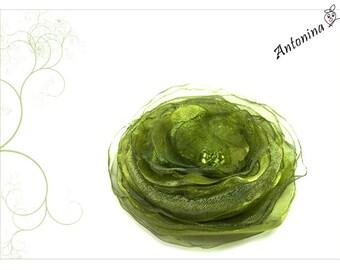 Flower green moss green light green hair flower green moss green light green hair flower antique green