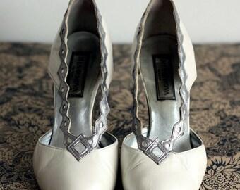 Vintage evening shoes size 5/38
