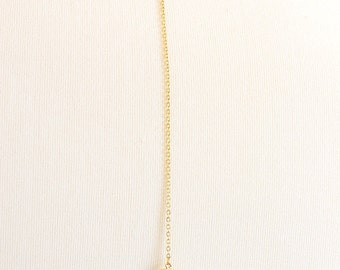 Collier married dos - dos - Rosy - jewelry Bridal BackDrop Necklace - plate gold necklace back married - pink - wedding - zircon - Rose