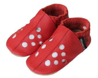 Red Baby Sandals, Toddler Sandals, Soft Sole Shoes, Leather Baby Sandals, Boys Sandals, Baby Shoes, Baby Sandals, Toddler shoes, Australia