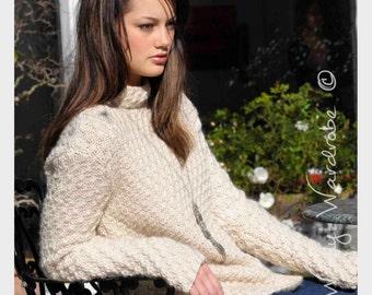 KNITTING PATTERN - Bianca Sweater