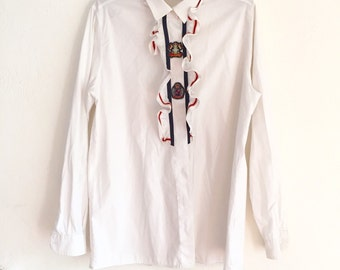 Sailor shirt made in italy