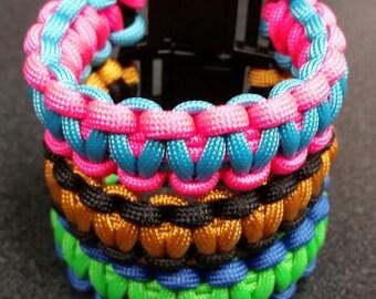"Small (6.00"")- Custom Paracord Bracelet"