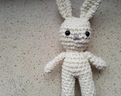 crochet little bunny rabbit plushies toy lapin amigurumi baby toys handmade
