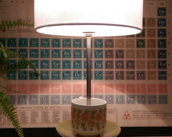 Retro Teacup Lamp