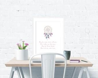 Home Blessing Poster – Instant Digital Download