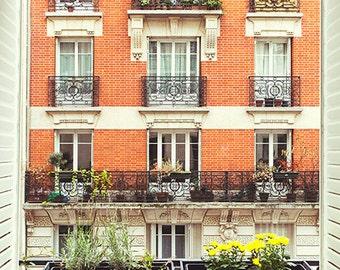 France, Paris, Paris photography, Paris window, Paris view, wall art print, Paris window photography, Paris print, fine art #102