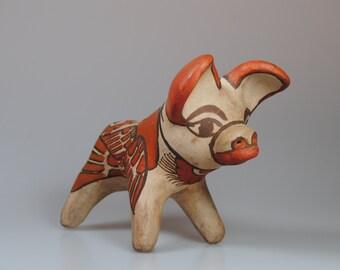 Clay primitive figures Guerrero, Mexico