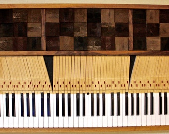 Piano Key Wall Art