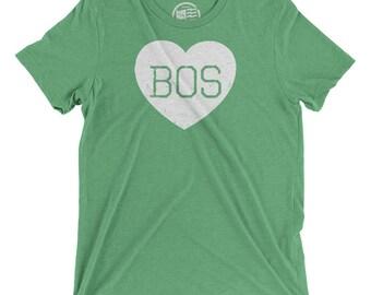 Boston Love Vintage Tri-blend T-Shirt